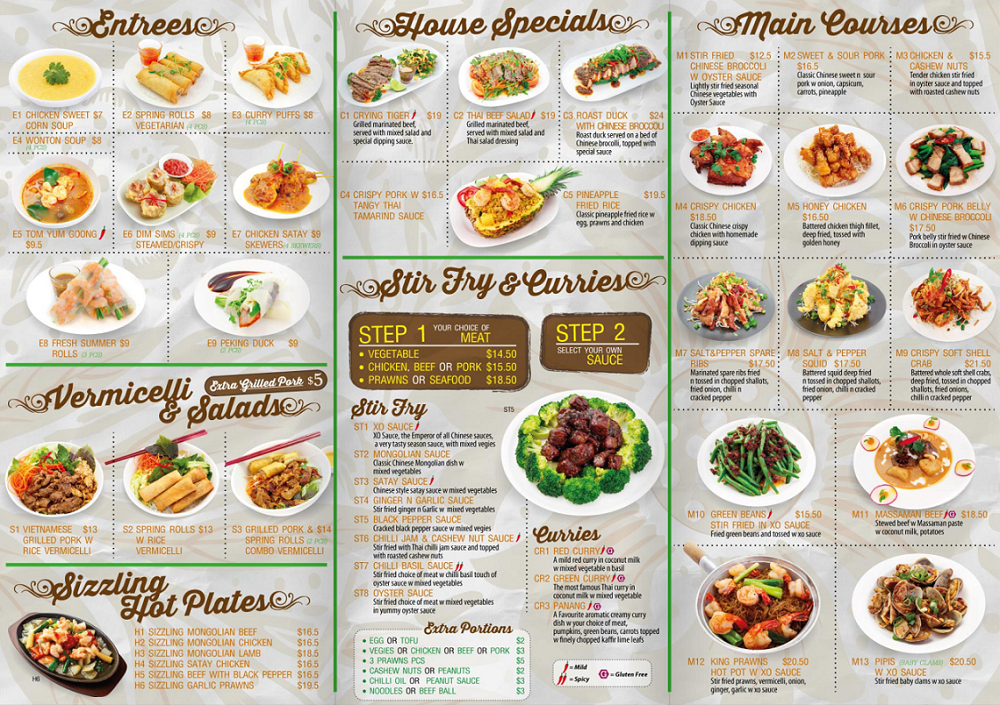 Our Menu | Pho Time Wetherill Park (Greenway Plaza)